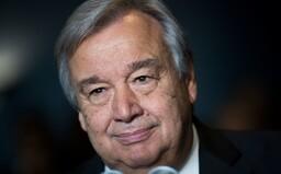"""""""Lidstvo je stále nebezpečně blízko nukleárnímu vyhlazení,"""" uvedl generální tajemník OSN"""