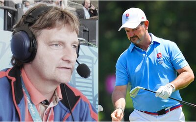 """Možno dostane kroj a valašku, vole!"" Český komentátor si uťahoval z národnosti juhoafricko-slovenského golfistu"