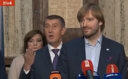 """""""Nebuďte slušnej, kdo vám to řek? Jméno!"""" Andrej Babiš vyslýchal ministra v živém vysílání jako na policii"""