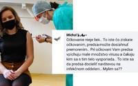 """""""Očkovanie nie je liek, pri ňom vám vpichnú malé množstvo vírusu. To isté docielite návštevou na infekčnom,"""" píšu na Facebooku."""