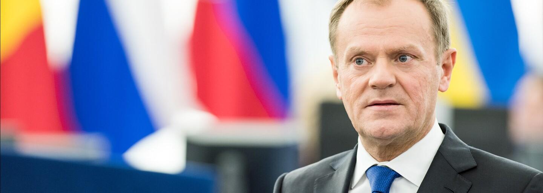 """""""Polsko může vystoupit z EU dřív, než se zdá,"""" pohrozil premiér Tusk. Většina Poláků chce ale v Unii zůstat"""