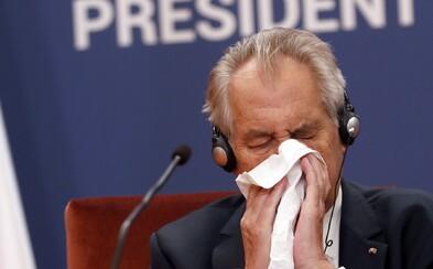 """""""Šašek počmáranej,"""" řekl Miloš Zeman o Kalouskovi. Prymulovi dá nejvyšší státní vyznamenání"""