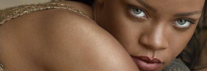 Barbadoská kráska Rihanna těší mužské oko na titulce nejnovějšího vydání magazínu Vogue