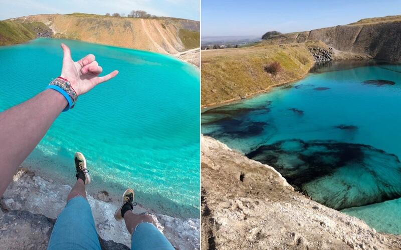 Instagrameri ignorujú karanténu a navštevujú krásnu azúrovú lagúnu. Polícia ju musela zafarbiť načierno.