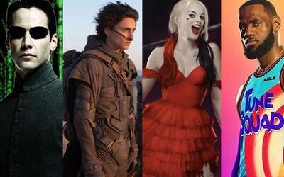 Duna, Suicide Squad, Mortal Kombat, Conjuring 3, Godzilla vs Kong či Matrix. Warner Bros ukazuje, čo nás čaká tento rok.