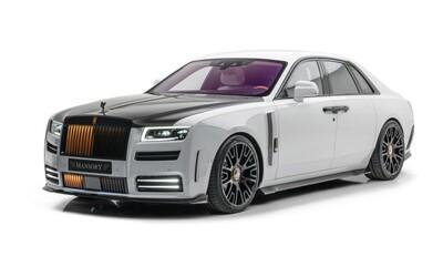 Majestátny Rolls-Royce Ghost si vzalo do parády Mansory, výsledkom je 720 koní