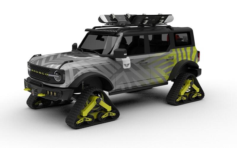 Ford na tohtoročnom veľtrhu SEMA predvedie 4 vyšperkované modely slávneho Bronca. Ukáže aj verziu s pásmi.