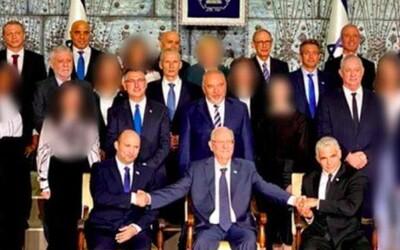 V ultraortodoxním izraelském plátku všem ženským členkám nové vlády rozostřili obličej. Nechtějí je ve veřejném prostoru.