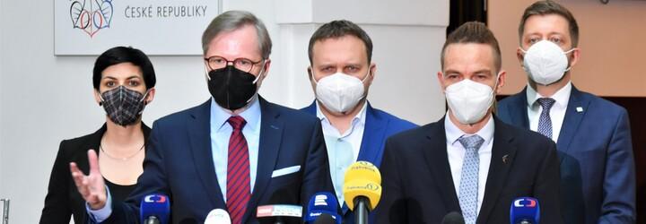 SPOLU a Piráti se Starosty plánují do 8. listopadu podepsat smlouvu o koaliční vládě