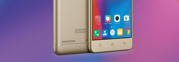 Smartphony Lenovo K6 Power a Note kombinují prémiové materiály se skvělou cenou i slušným hardwarem