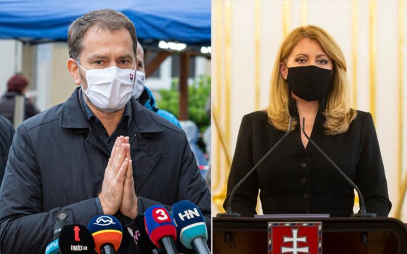 Matovič: Dúfam, že prezidentka sama uznala, že Slovensku absolútne nepomohla, zhodnotil jej postoj premiér na tlačovke.