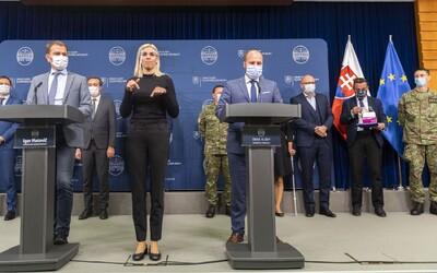 Takto by malo prebiehať celoplošné testovanie: Ministerstvo obrany zverejnilo základný plán.