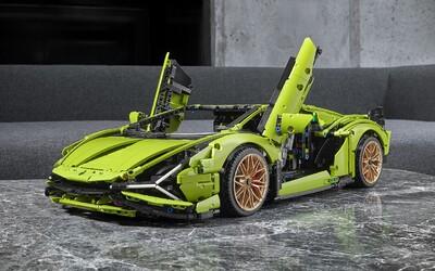 LEGO odhalilo jednu z nejnáročnějších stavebnic automobilu. Postavit si můžeš Lamborghini Sián.