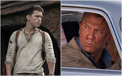 Jamesa Bonda znova odložili. Uncharted uvidíme až budúci rok, podobne je na tom celý Hollywood.