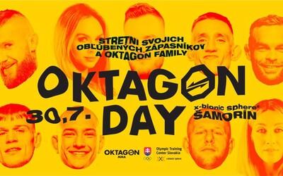 Oktagon Day: Pozývame ťa na stretnutie do klietky s Gáborom Borárosom, Pirátom Krištofičom aj Iljom Škondričom.
