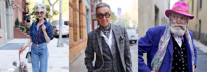 Věk módní styl neomezuje. Dokáží ti to senioři s vytříbeným vkusem a zálibou v módě