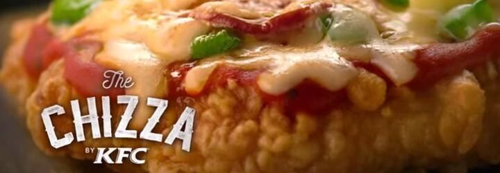 Klasická pizza má vážného konkurenta. O rozruch se postarala síť KFC