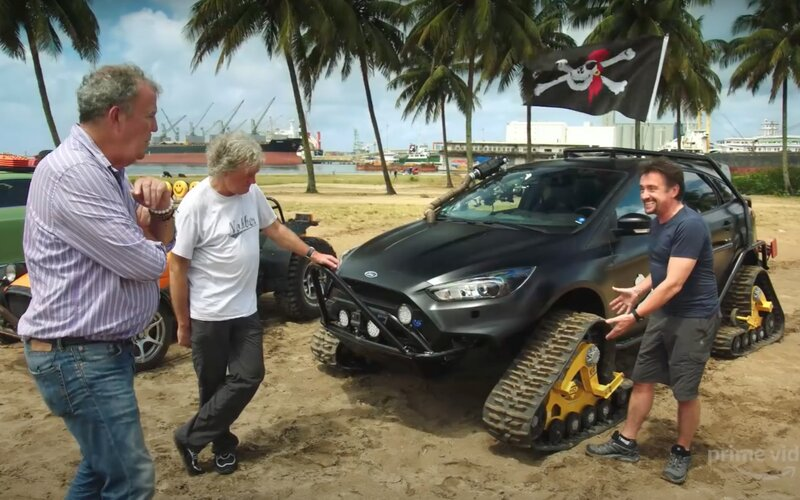 Clarkson, Hammond a May jsou zpět. Zamíří na Madagaskar.