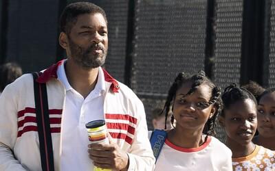 Will Smith je v novém filmu otcem Sereny a Venus Williams. Sleduj emotivní trailer na chystané sportovní drama.