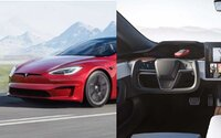 1 020-koňový Model S Plaid sa oficiálne predstavil, prvé video ukazuje absurdnosť jeho ovládania