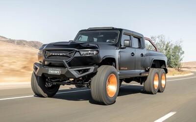 1 318 koní, 3 nápravy, pancierovanie a cena vyše 600-tisíc dolárov. To je extrémny pick-up Hercules 6x6