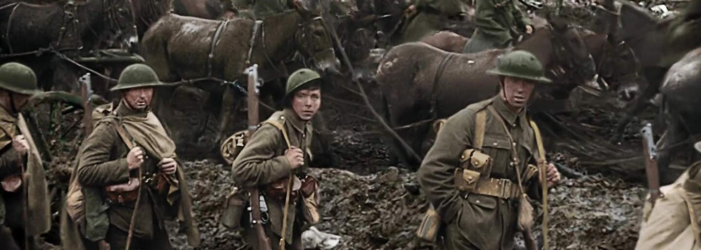 1. svetová vojna nikdy nepôsobila reálnejšie. Dokumentárny film Petera Jacksona vyráža dych