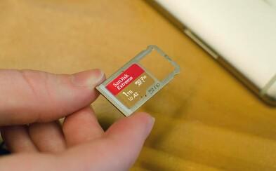 1 TB za 10 tisíc korun: SanDisk začal prodávat první paměťovou kartu této kapacity