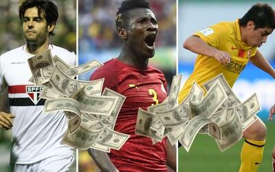 10 absurdních platů fotbalistů, o kterých jsi možná nevěděl a zatočí se ti z nich hlava
