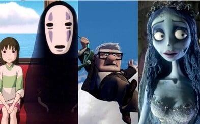 10 deprimujících, zdrcujících, ale i nádherných animáků, při kterých si nejednou vypláčete oči