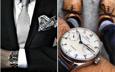 10 elegantních a zároveň dostupných hodinek pro každého muže