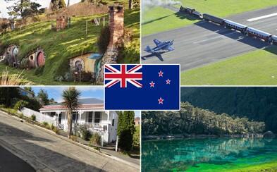 10 fascinujících věcí, které jsi (možná) nevěděl o Novém Zélandu