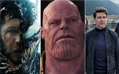 10 filmov, ktoré v roku 2018 zarobili v kinách najviac. Darilo sa hlavne Disney, komiksovkám a Čína opäť zvalcovala celý svet