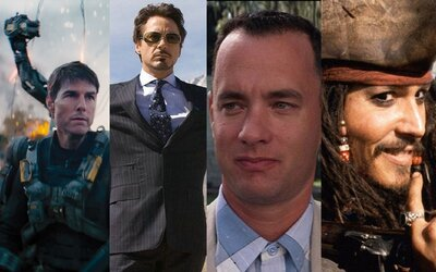 10 hercov a herečiek, ktorých filmy zarobili štúdiám najviac peňazí
