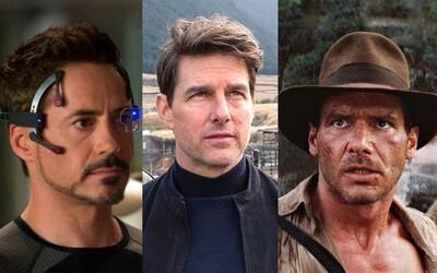 10 hercov, ktorí za jedinú rolu dostali hriešne peniaze. Koľko zarobil Iron Man, Ethan Hunt či Indiana Jones?