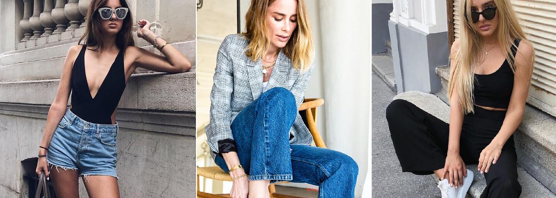 10 ideálnych outfitov do horúčav. Vyskúšaj to s pestrými farbami alebo s odvážnym body