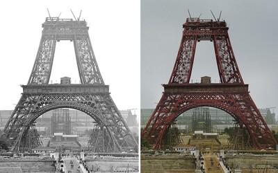 10 kolorizovaných ukážok toho, ako vznikali ikonické stavby pred desiatkami rokov. Práce na nich nepatrili medzi najľahšie