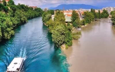 10 kouzelných soutoků řek, které nabízejí barevné přírodní divadlo