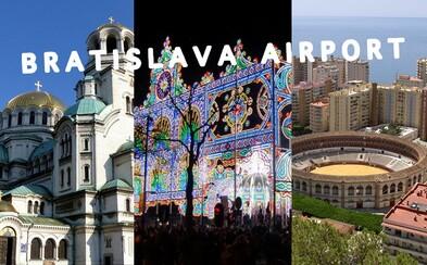 10 menej populárnych klenotov, kam doletíš z Bratislavy. Za pár eur vieš z nášho hlavného mesta spoznať zákutia sveta