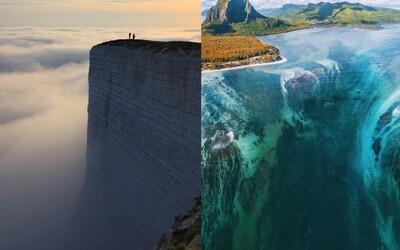 10 míst na Zemi, která vypadají jako z jiné planety. Podvodní vodopád nebo svítící pláž působí nadpřirozeně