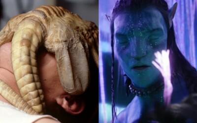 10 najbizarnejších sexuálnych scén vo sci-fi filmoch. Užívali si mimozemšťania, klony mŕtvych ľudí, ale aj Luke Skywalker