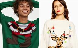 10 najkrajších vianočných svetrov, ktoré rozveselia celú rodinu