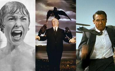 10 najlepších filmov legendárneho Alfreda Hitchcocka, majstra napätia, ktorý točil jeden skvelý film za druhým