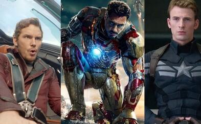 10 najlepších filmov od Marvelu