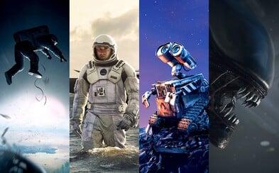 10 najlepších filmov odohrávajúcich sa vo vesmíre
