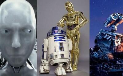 10 najobľúbenejších a najviac cool robotov vo filmoch