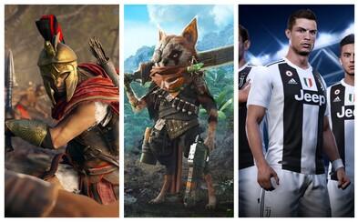 10 najočakávanejších hier, ktoré si zahráme do konca roka 2018