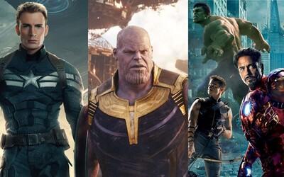 10 nejlepších filmů od Marvelu: výlet Thora s Hulkem, vrcholný Captain America a Bucky či představení nejlepšího záporáka, Thanose