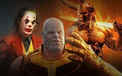 10 nejočekávanějších komiksových filmů roku 2019