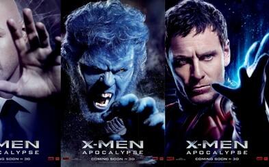10 nových plagátov pre X-Men: Apocalypse v retro štýle pripomína začiatok filmovej ságy