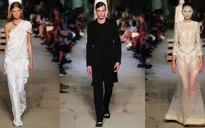 10 rokov v Givenchy oslávil Riccardo Tisci nádhernou prehliadkou na fashion weeku v New Yorku